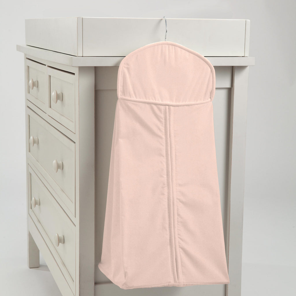 Product image for Solid Peach Diaper Stacker