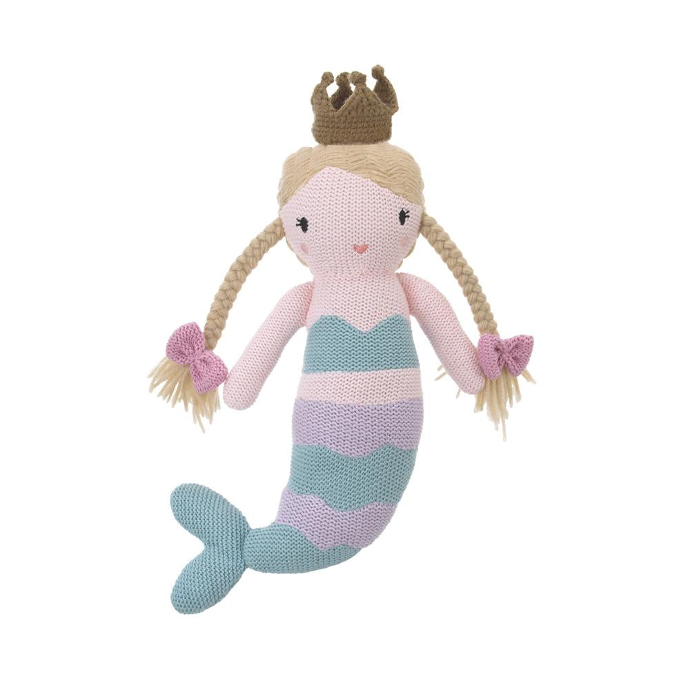 Product image for Mermaid Knit Plush Character