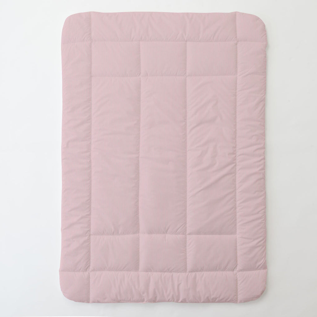 Product image for Pink Mini-Stripe Toddler Comforter