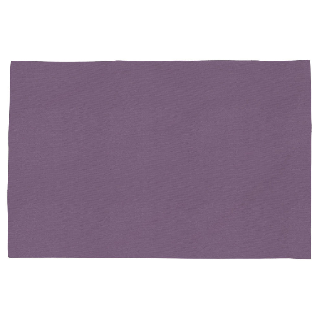 Product image for Solid Aubergine Purple Toddler Pillow Case