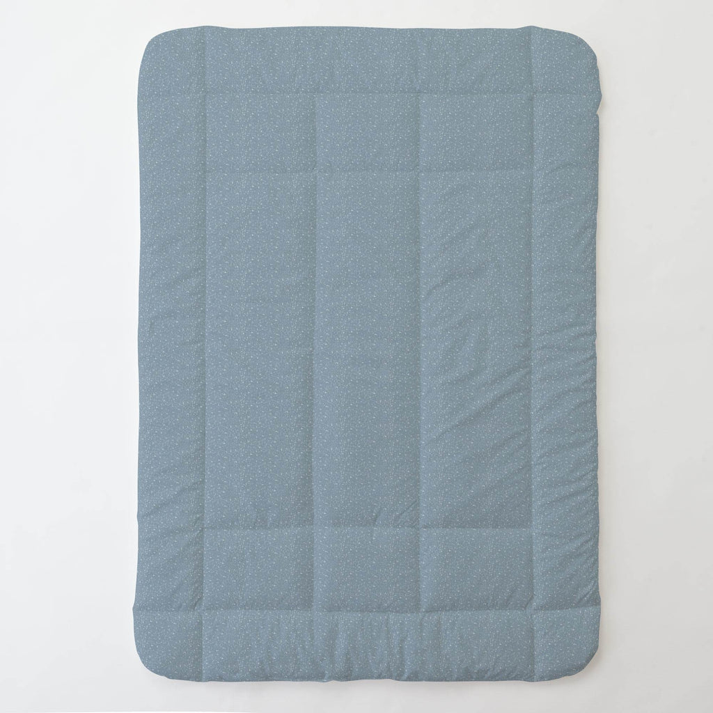 Product image for Steel Blue Heather Toddler Comforter
