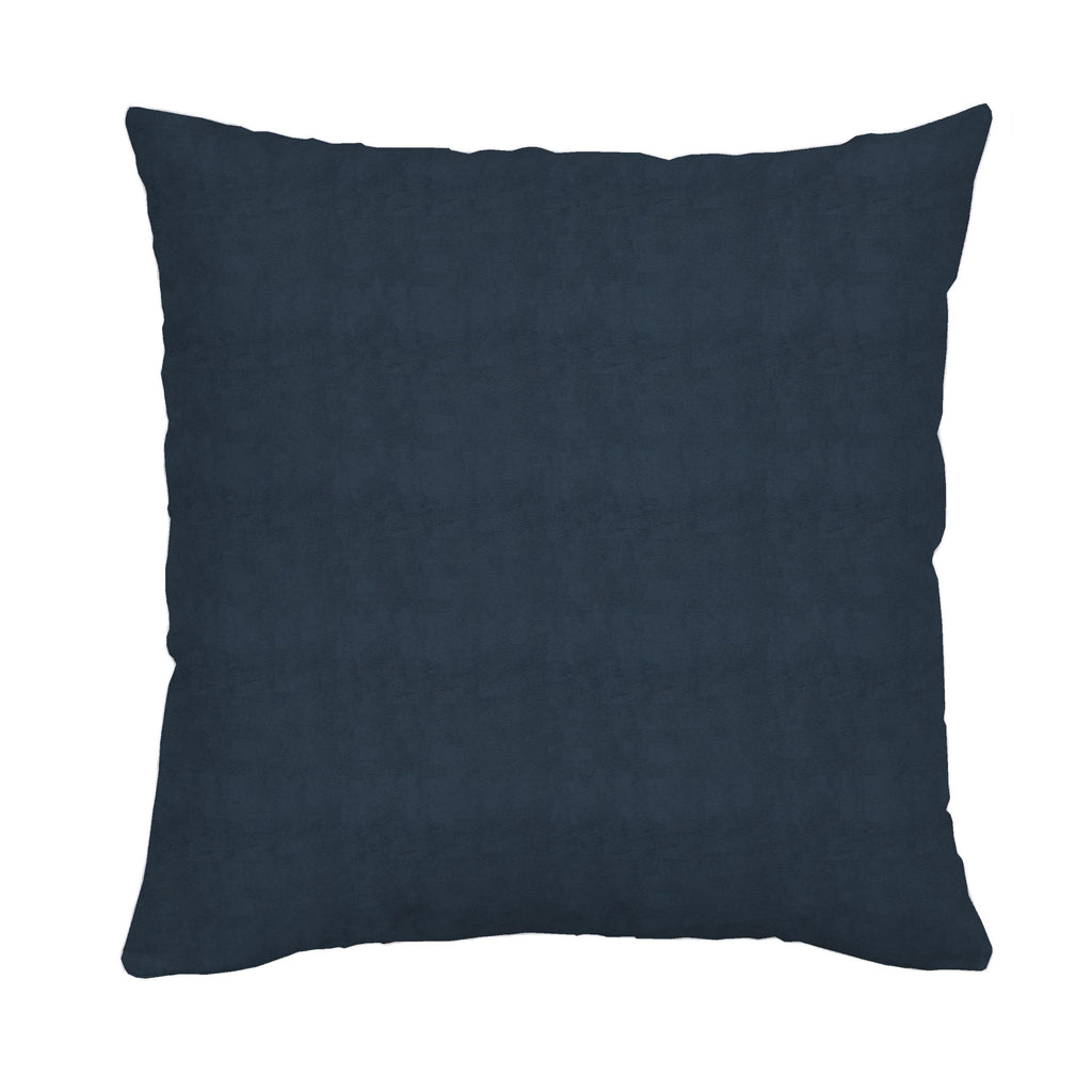 Product image for Solid Navy Minky Throw Pillow