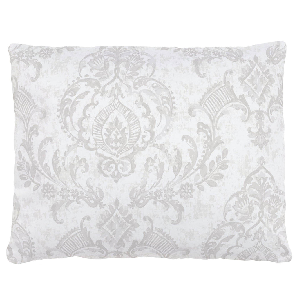 Product image for French Gray Painted Damask Accent Pillow