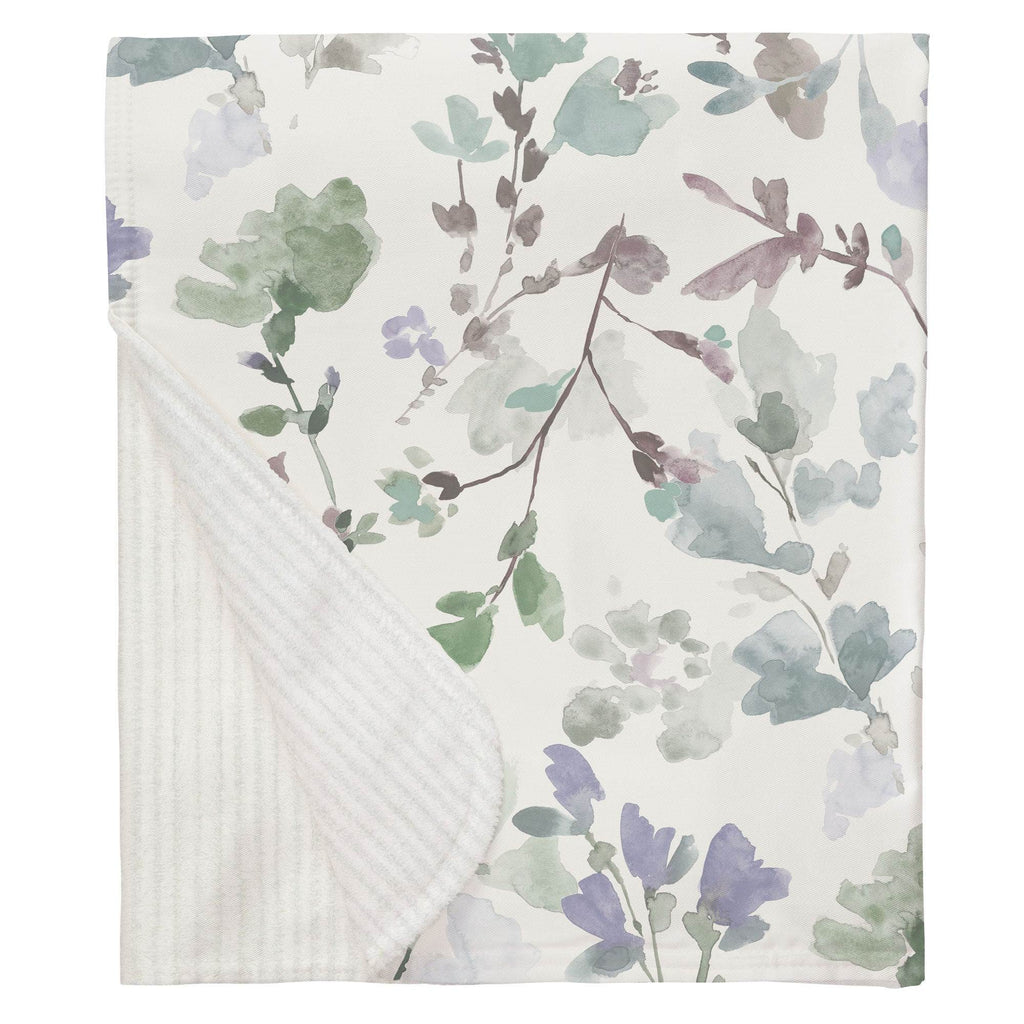 Product image for Soft Wildflower Baby Blanket
