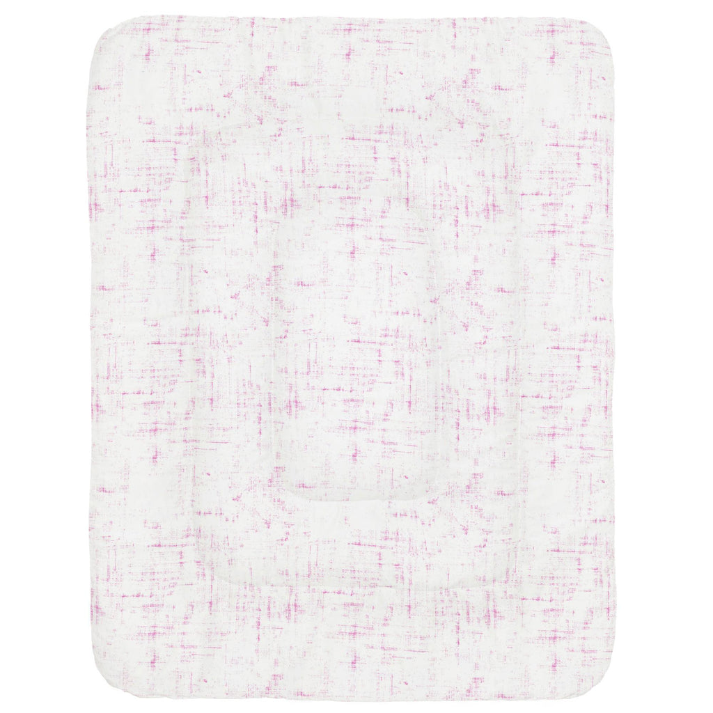 Product image for Hot Pink Distressed Crib Comforter