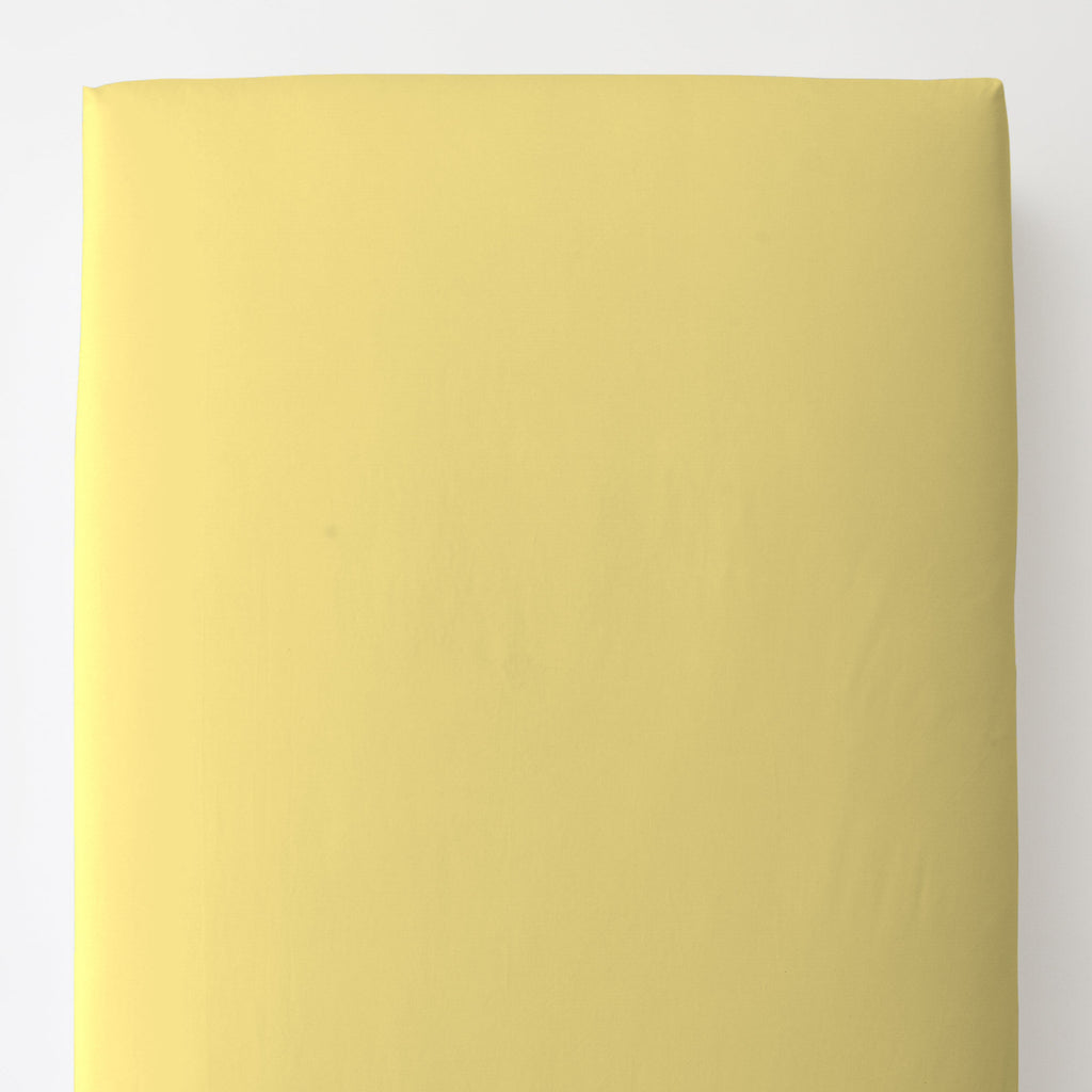 Product image for Solid Banana Toddler Sheet Bottom Fitted
