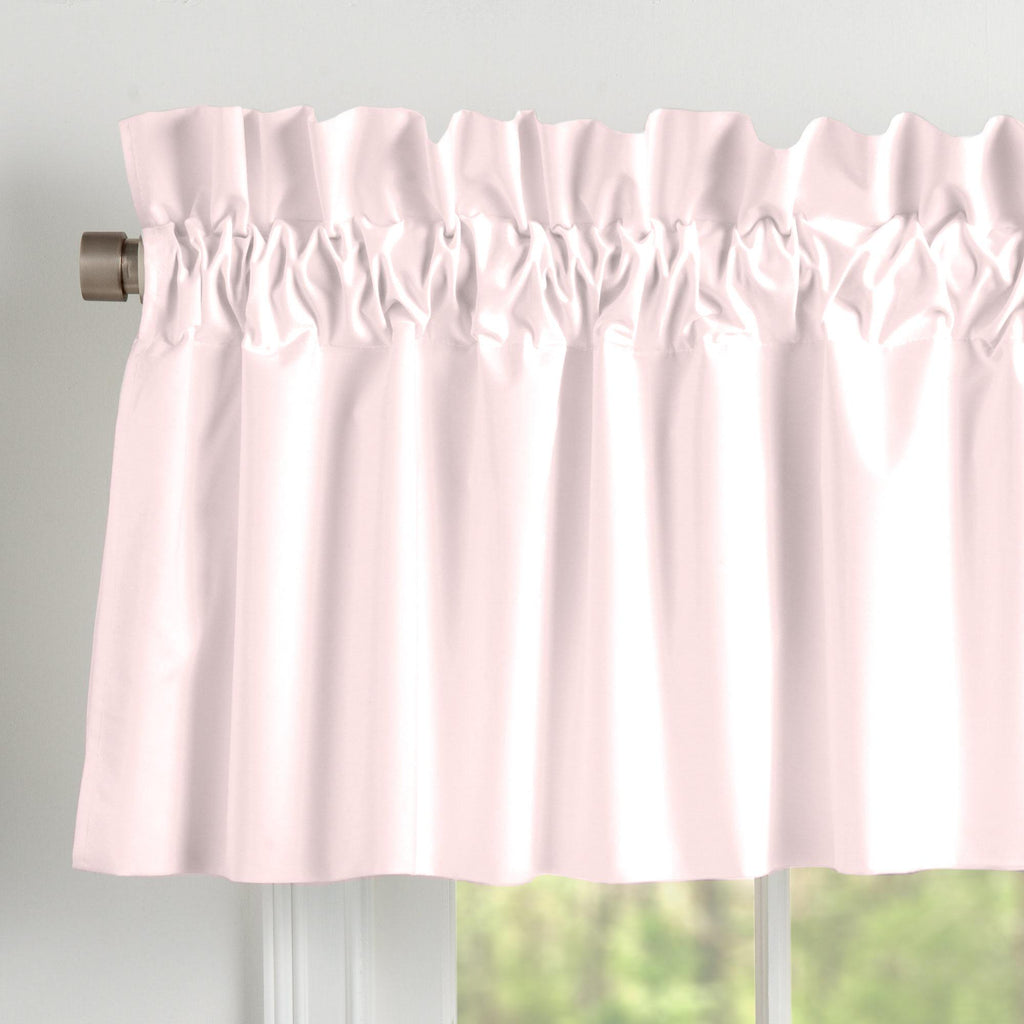 Product image for Solid Pink Window Valance