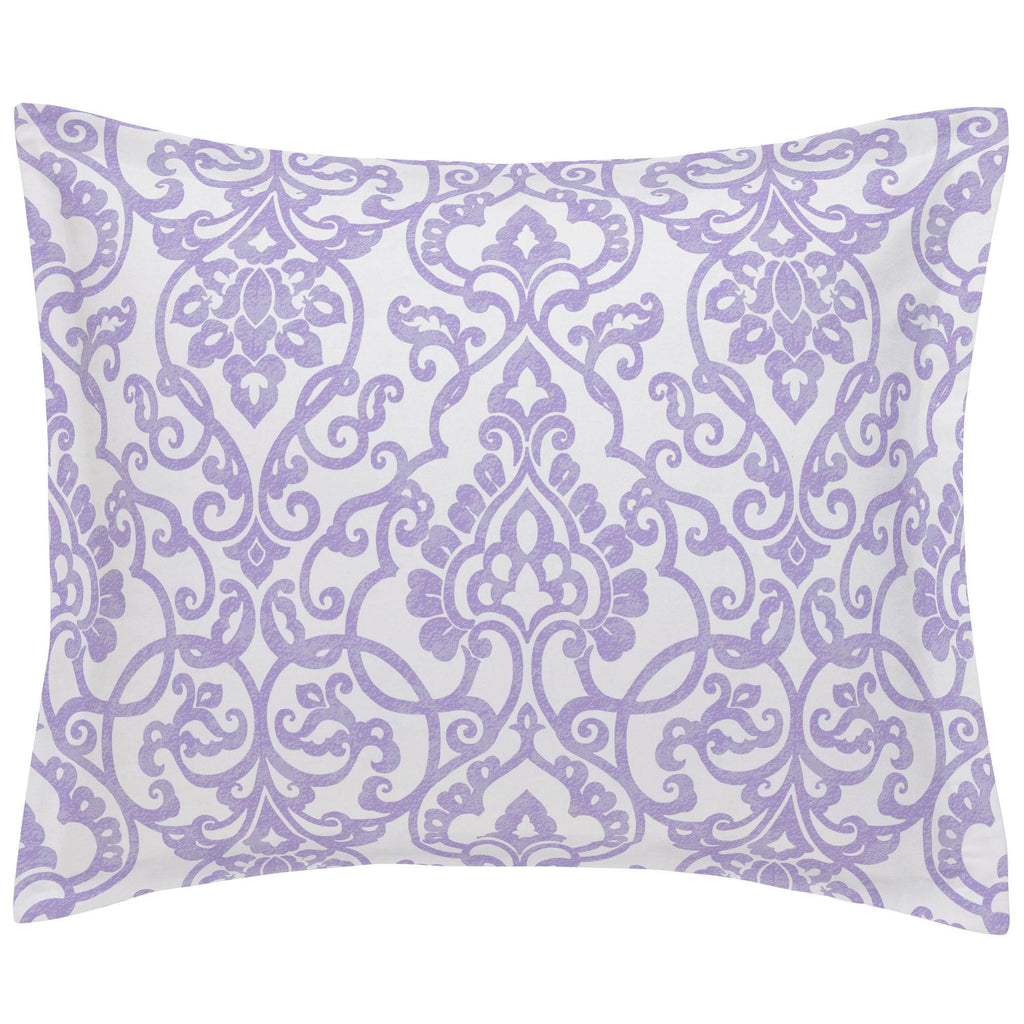 Product image for Lilac Filigree Pillow Sham