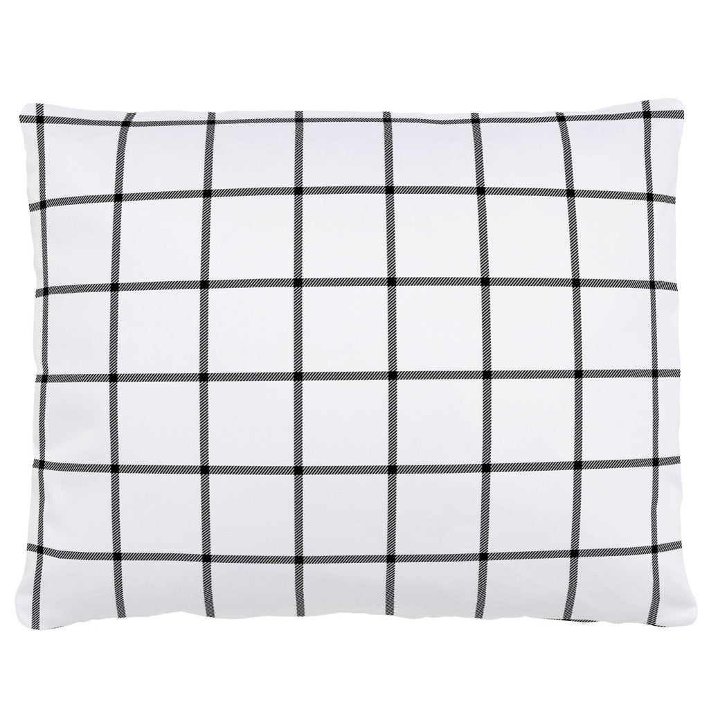 Product image for Onyx Windowpane Accent Pillow