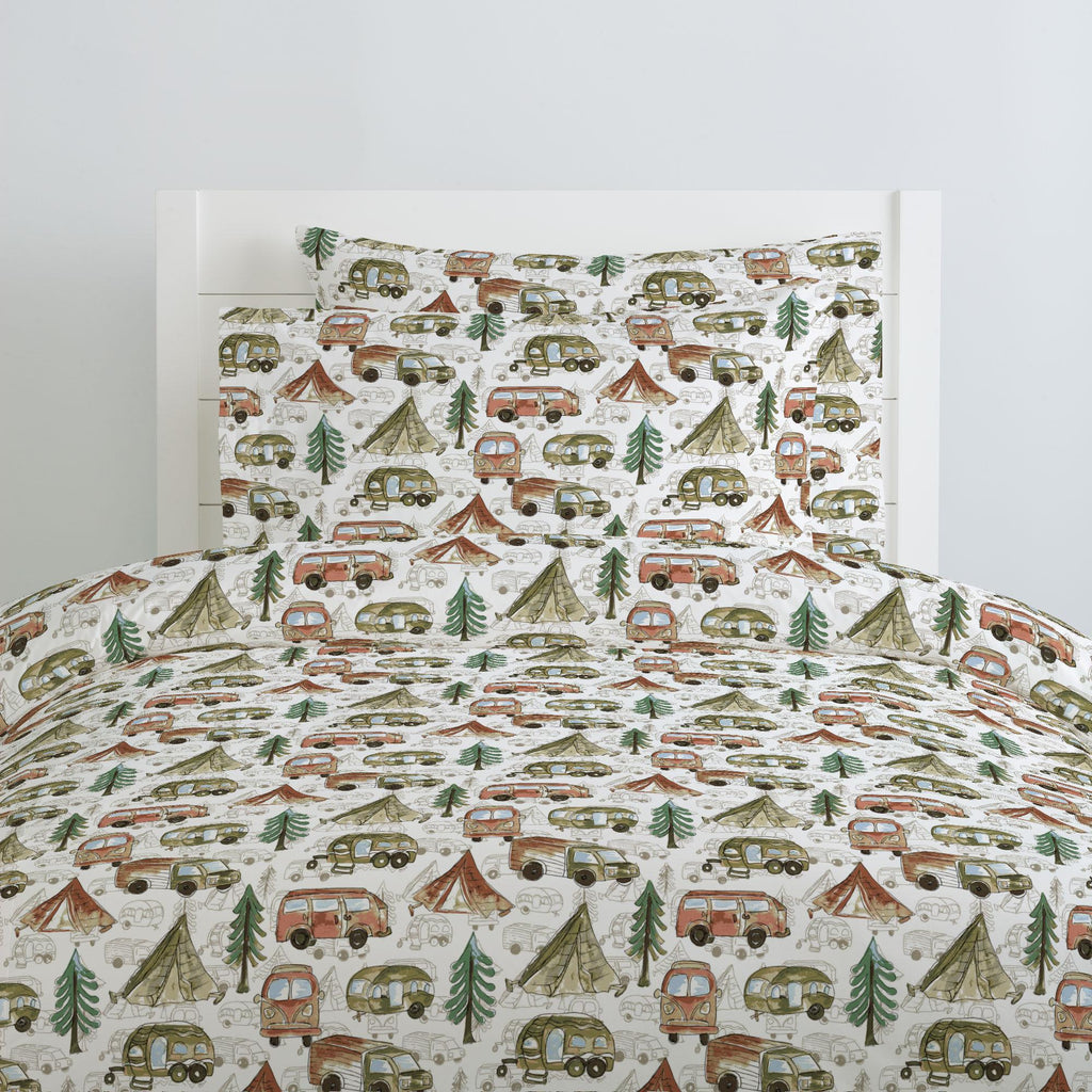 Product image for Gone Camping Duvet Cover