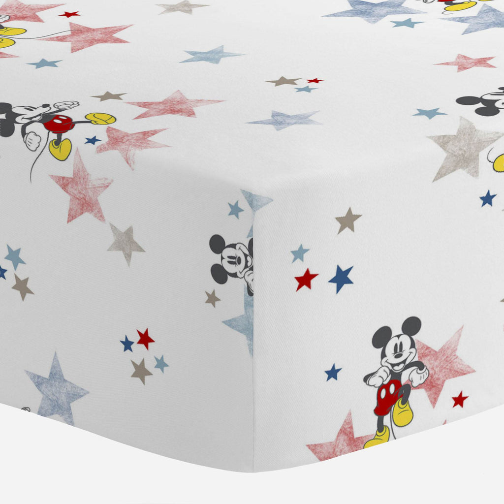 Product image for Disney© Small Town Mickey Crib Sheet