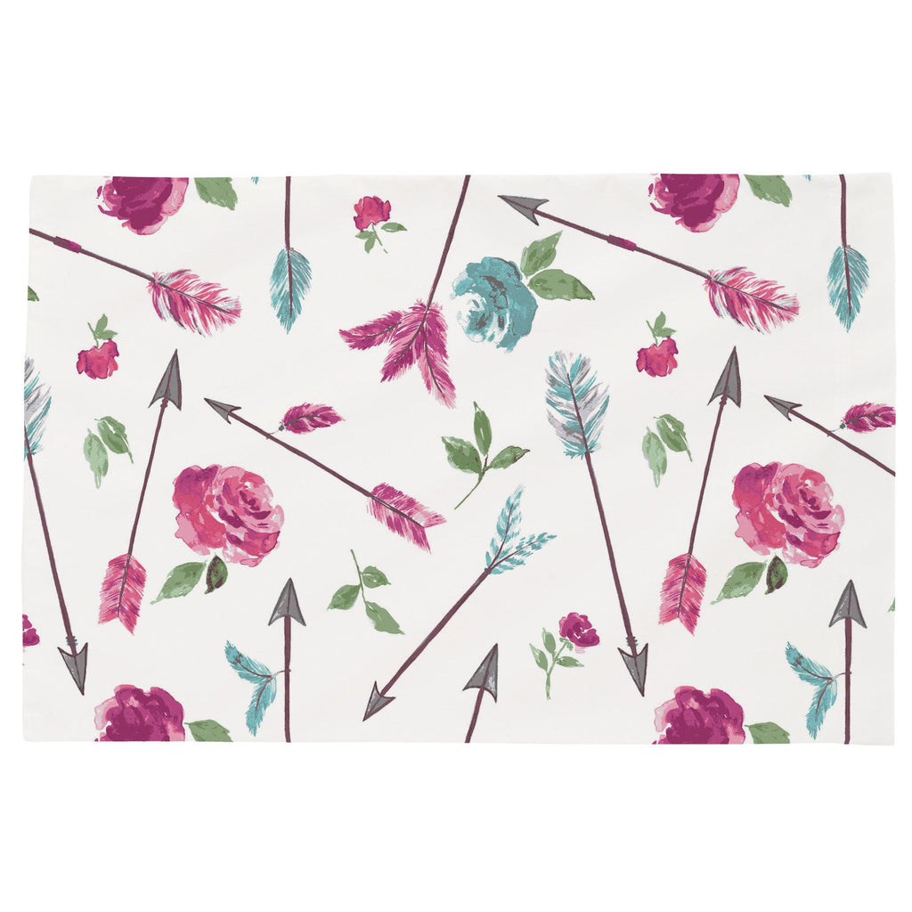 Product image for Floral Arrow Toddler Pillow Case
