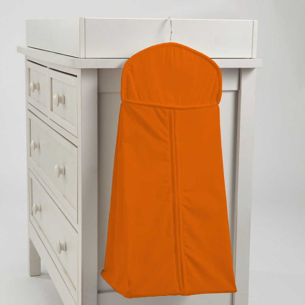 Product image for Solid Orange Diaper Stacker