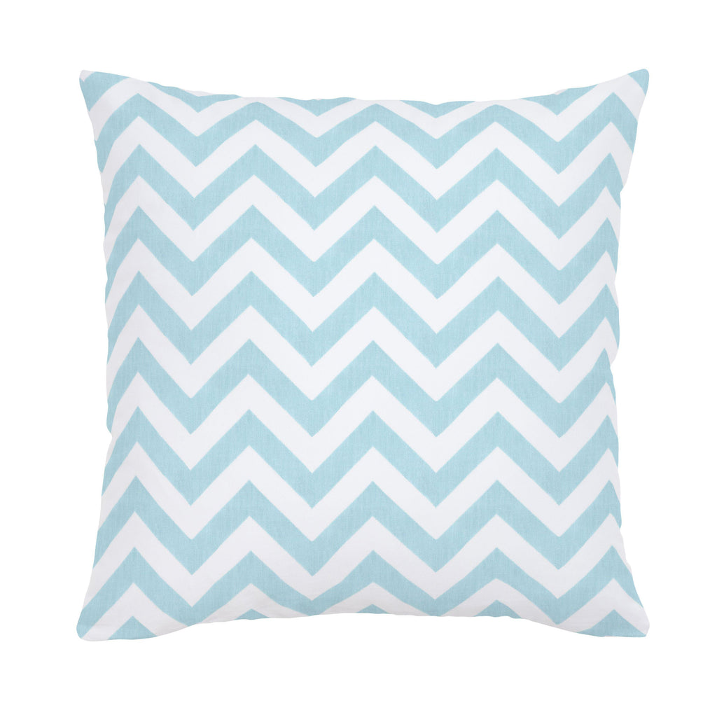 Product image for Mist Zig Zag Throw Pillow