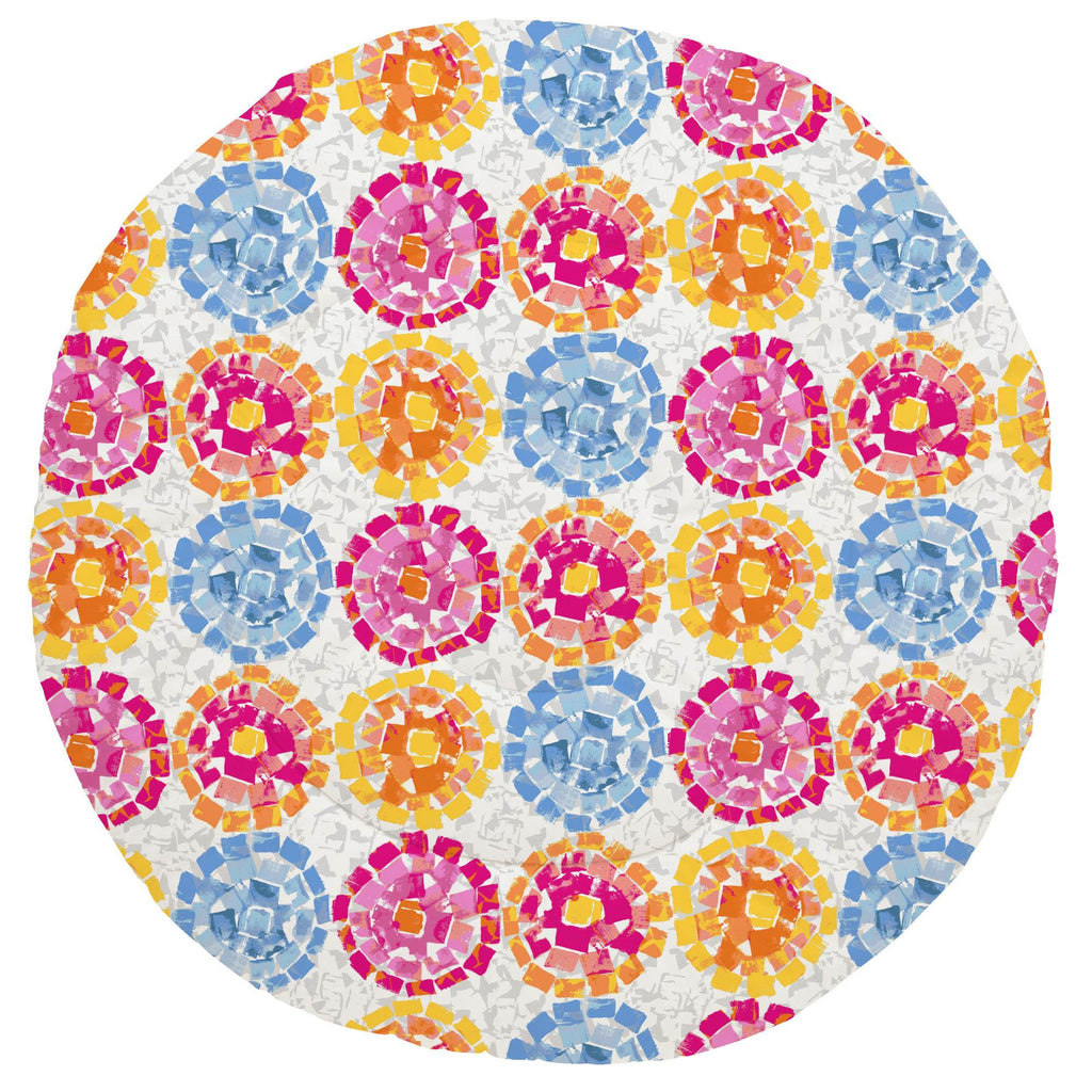 Product image for Pink and Blue Modern Mosaic Baby Play Mat