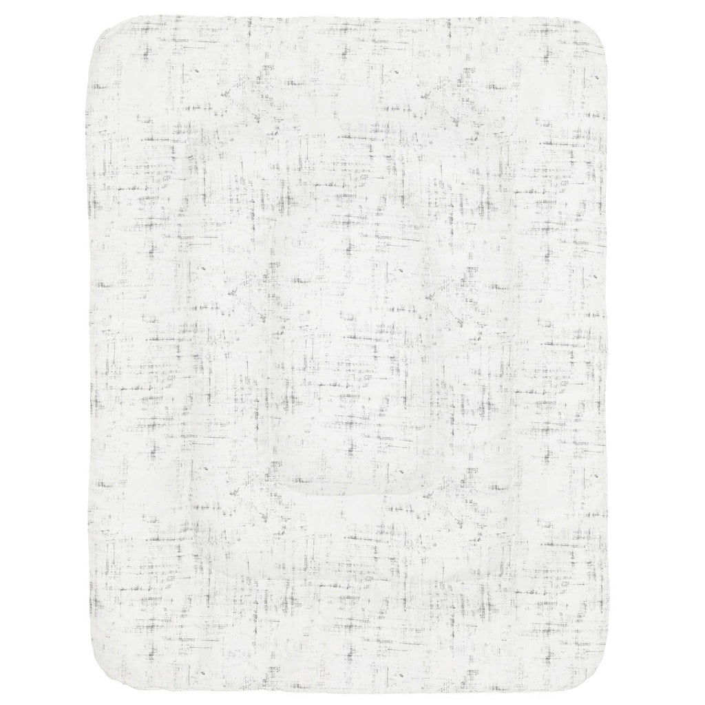 Product image for Cloud Gray Distressed Crib Comforter