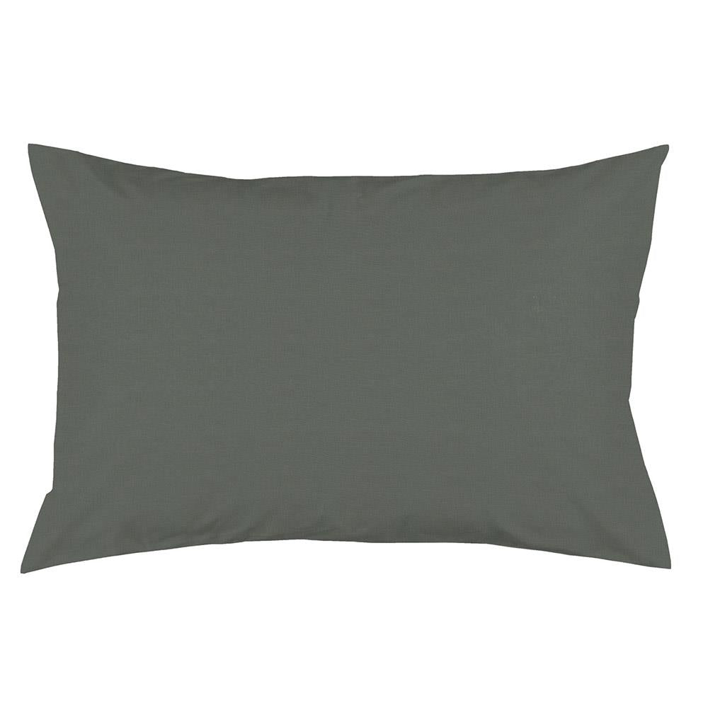 Product image for Solid Slate Gray Pillow Case