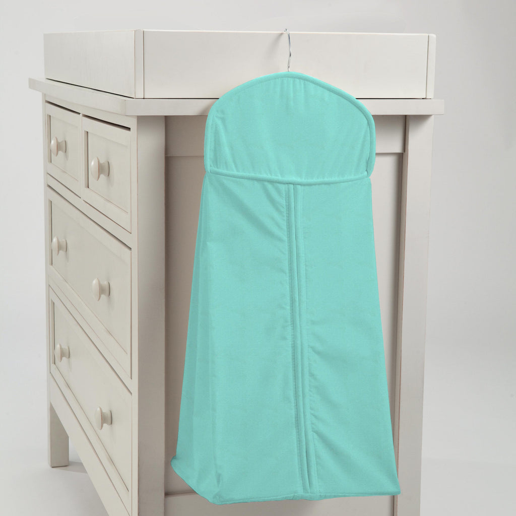 Product image for Solid Teal Diaper Stacker