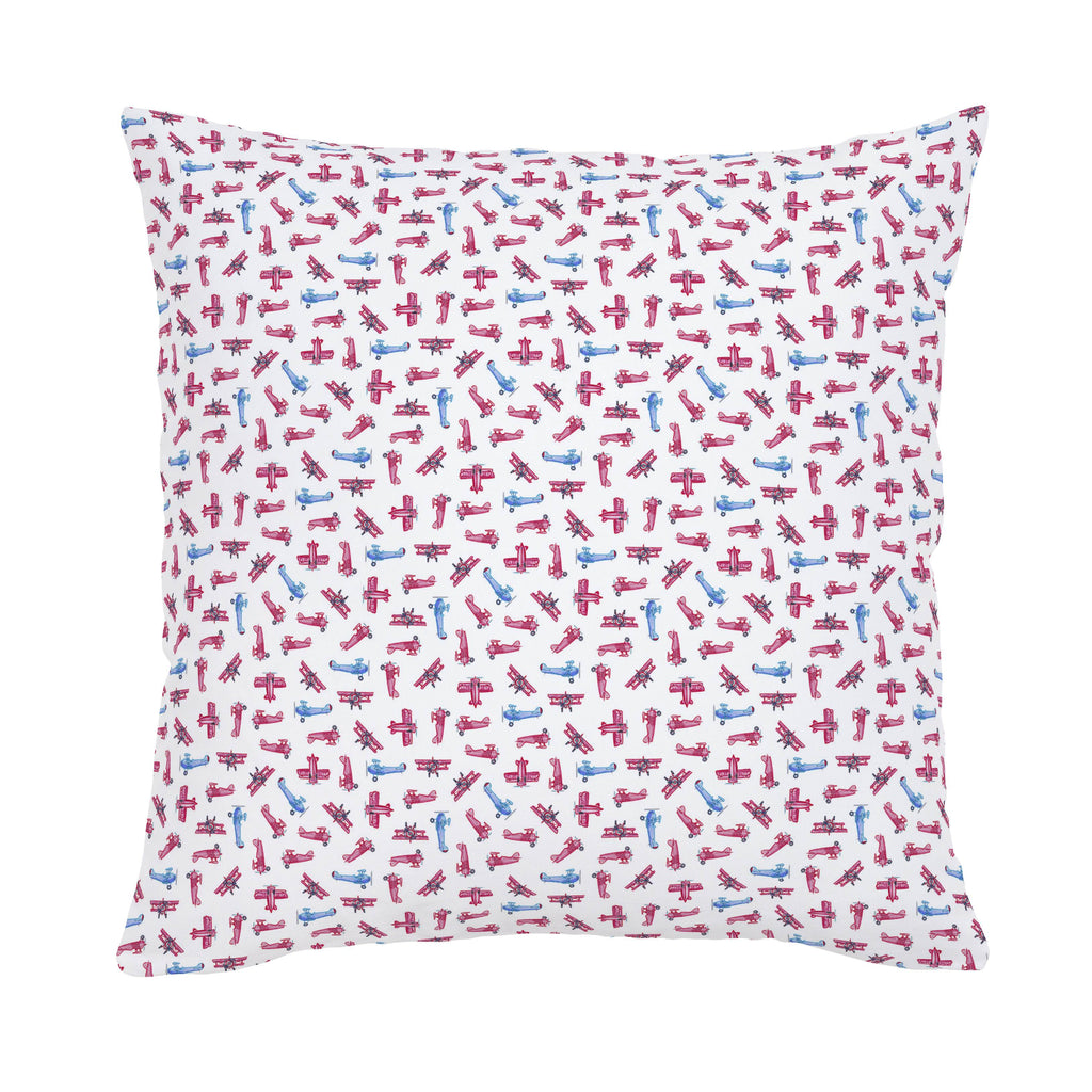 Product image for Tiny Airplanes Throw Pillow