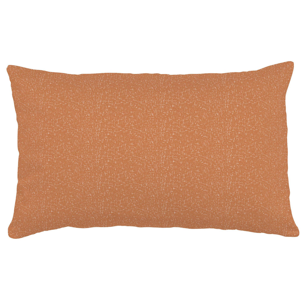 Product image for Fox Orange Heather Lumbar Pillow