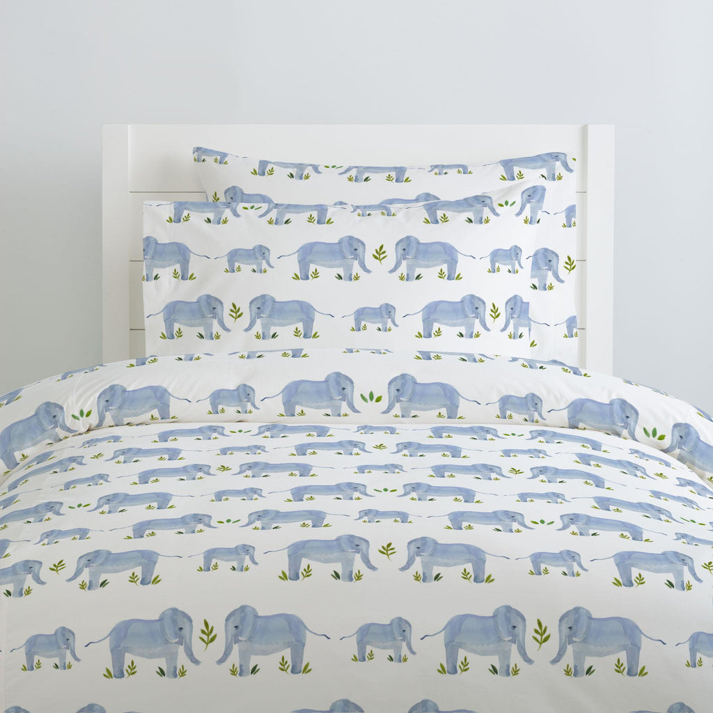 Product image for Painted Elephants Duvet Cover
