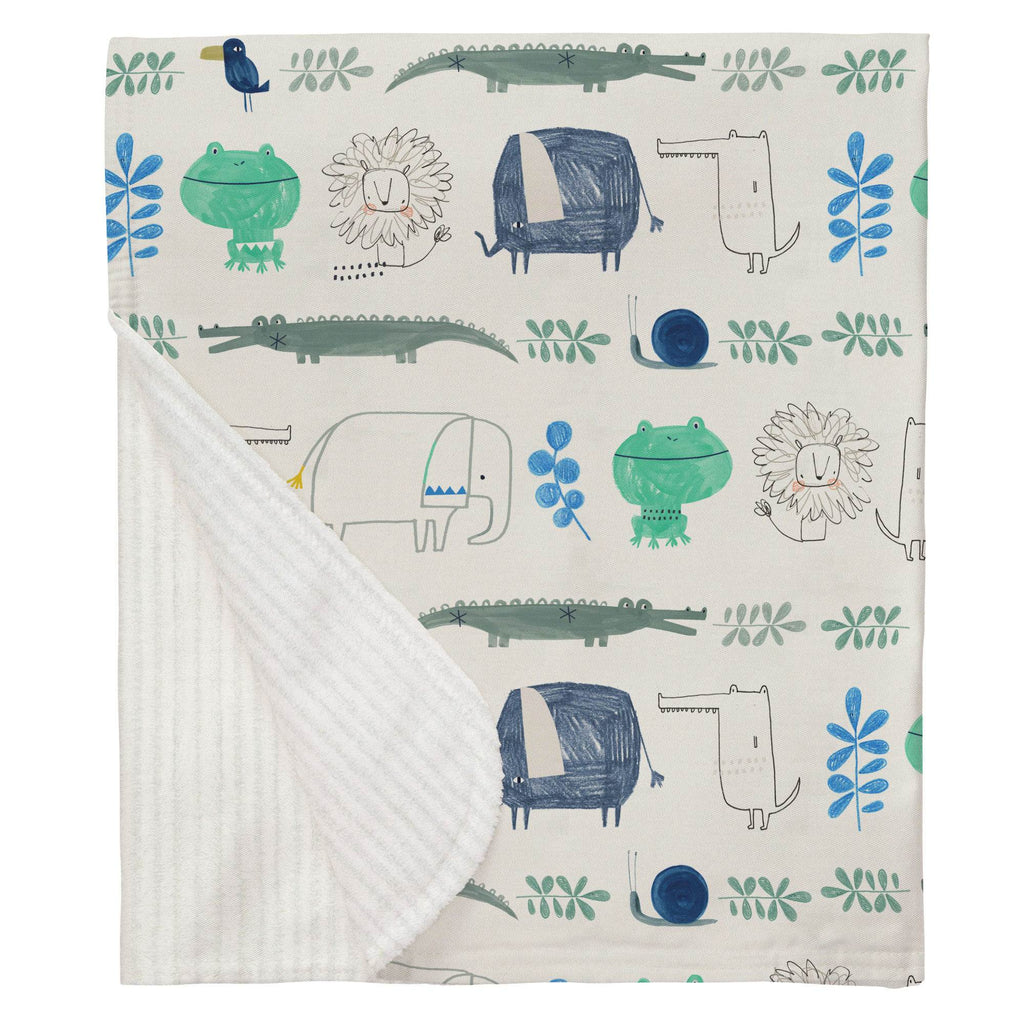 Product image for Safari Friends Baby Blanket