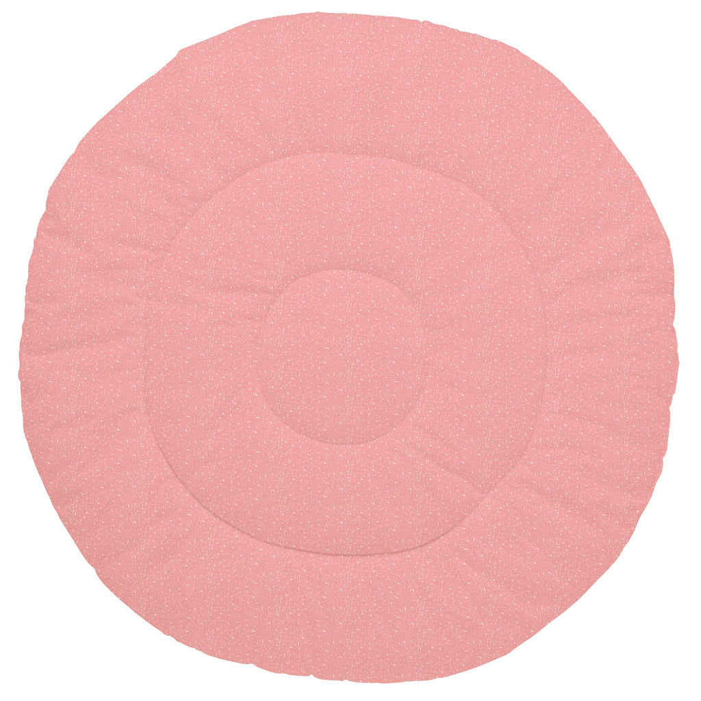 Product image for Coral Pink Heather Baby Play Mat