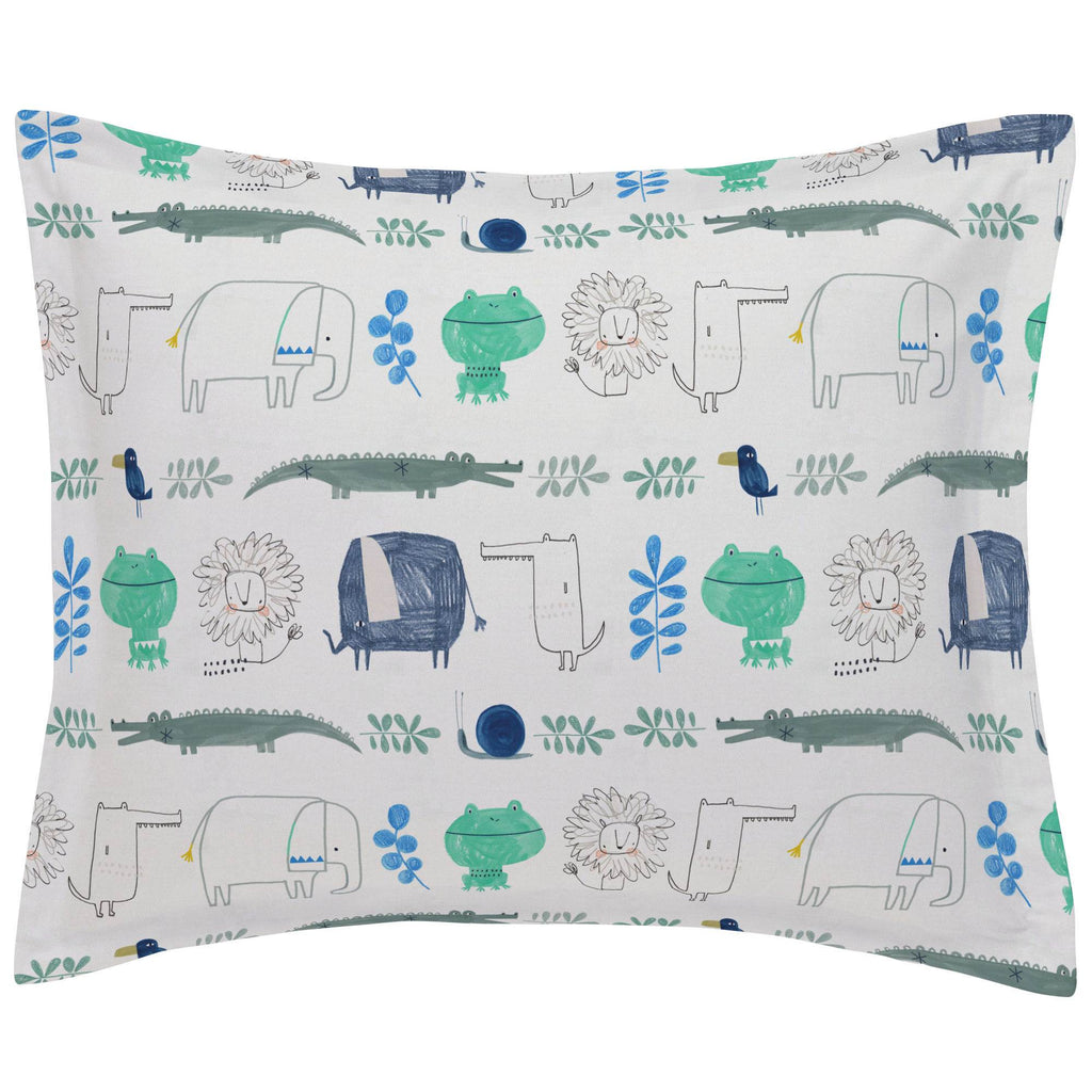 Product image for Safari Friends Pillow Sham