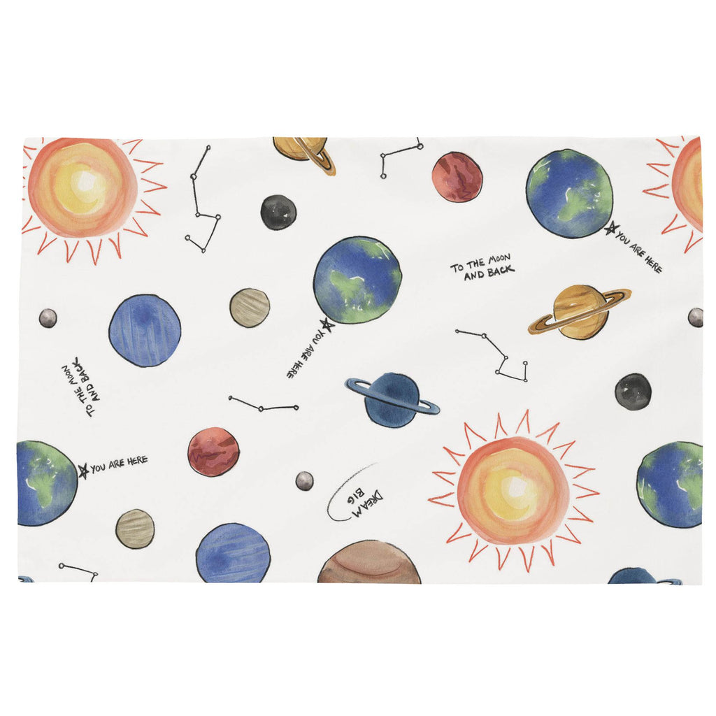 Product image for Solar System Toddler Pillow Case