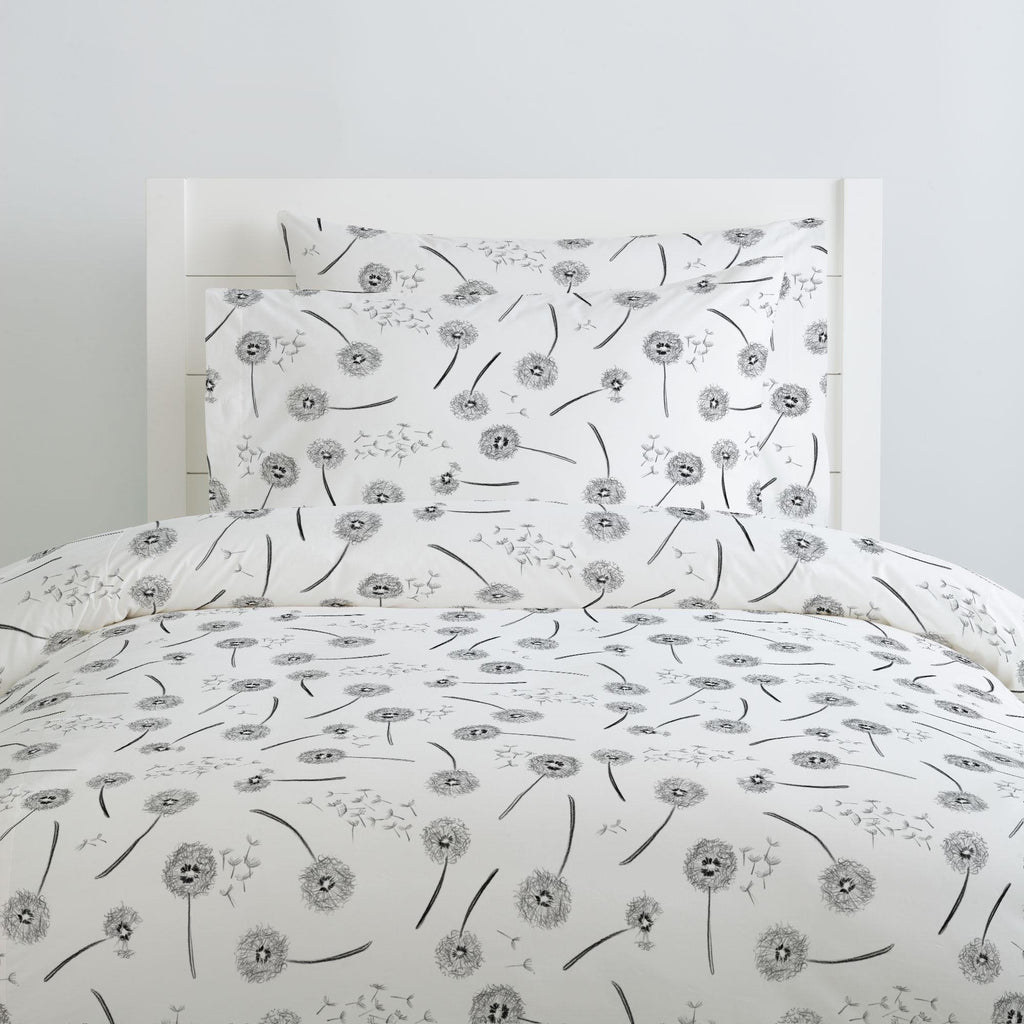 Product image for Hand Drawn Dandelion Duvet Cover