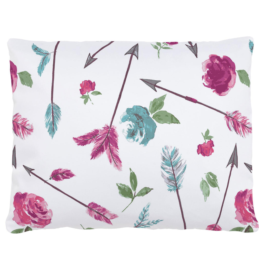 Product image for Floral Arrow Accent Pillow