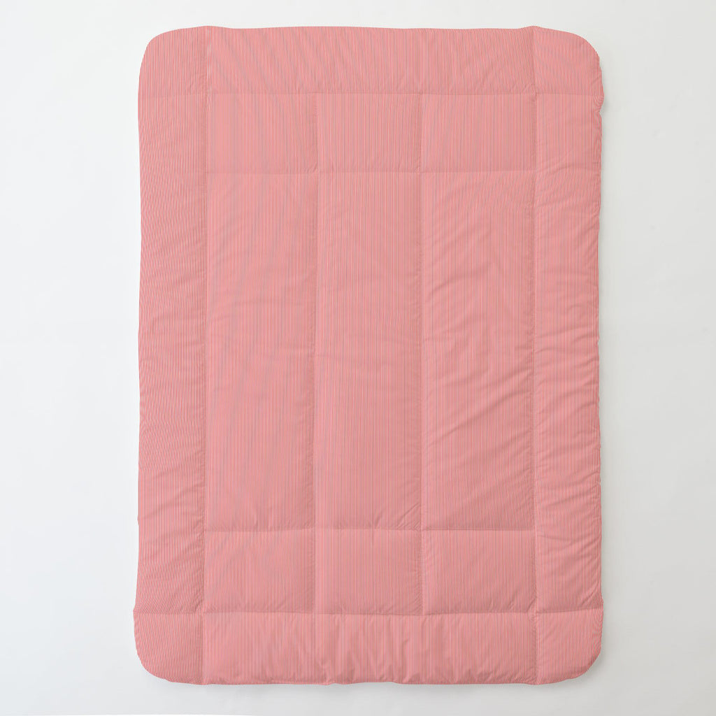 Product image for Coral Mini Stripe Toddler Comforter