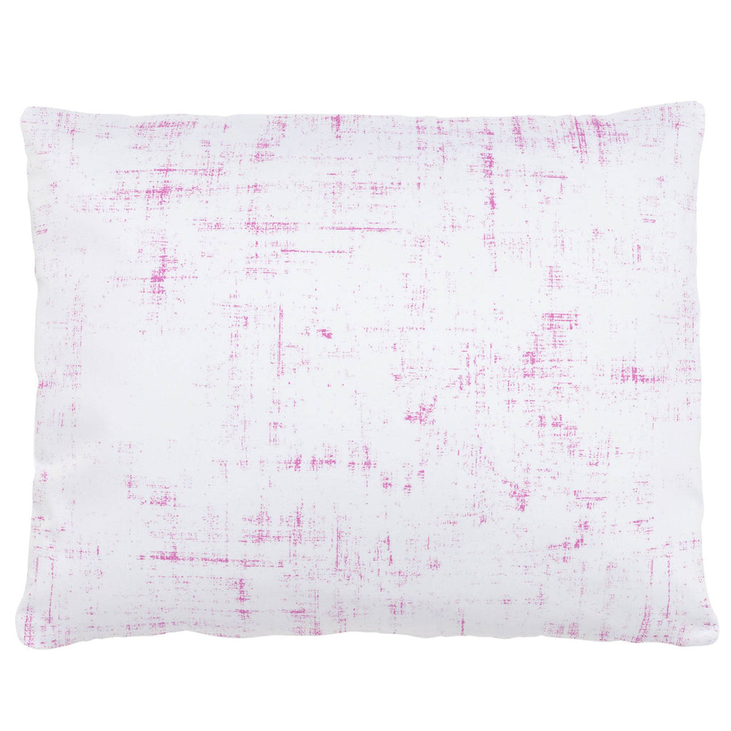 Product image for Hot Pink Distressed Accent Pillow