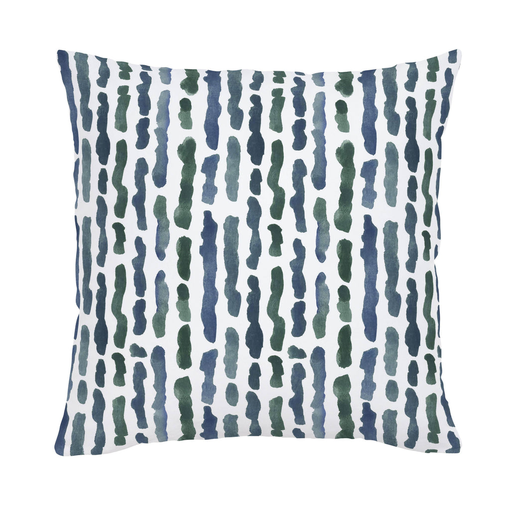 Product image for Sea Green Stripe Throw Pillow