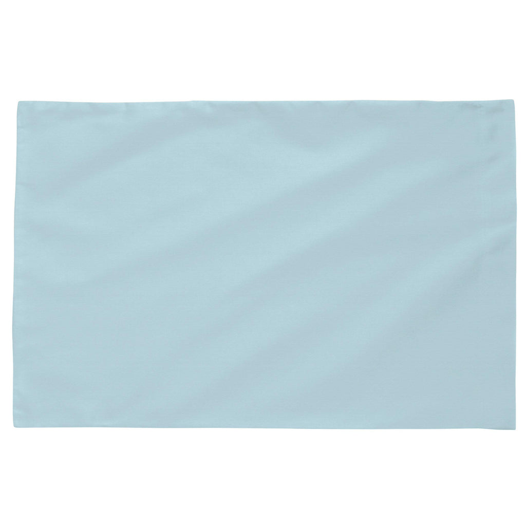 Product image for Solid Lake Blue Toddler Pillow Case