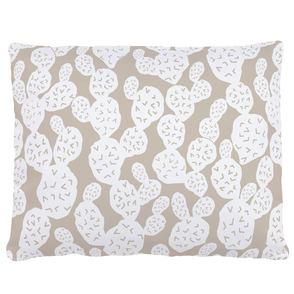 Product image for Taupe Prickly Pear Accent Pillow