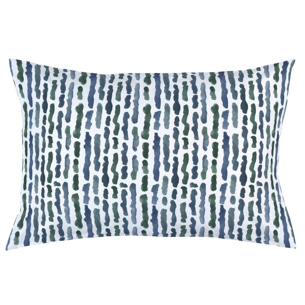 Product image for Sea Green Stripe Pillow Case
