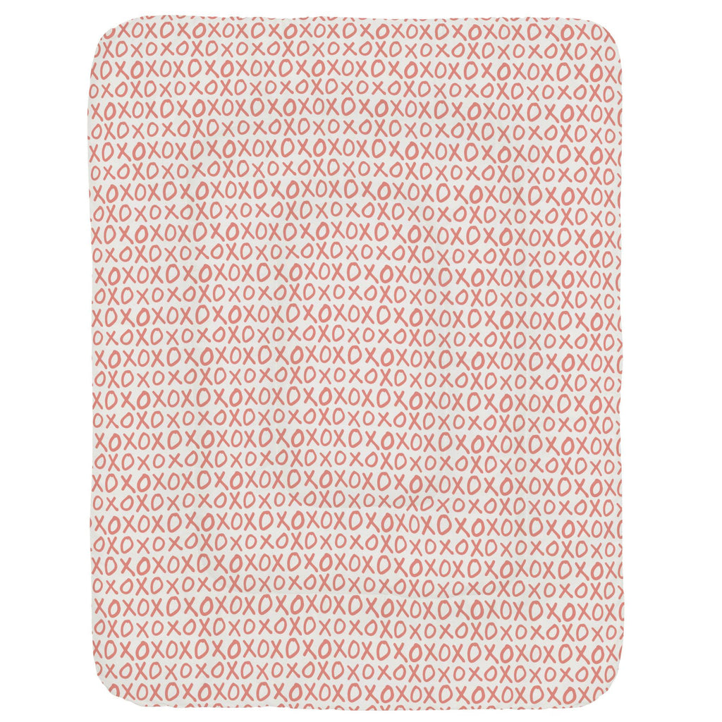 Product image for Light Coral XO Crib Comforter