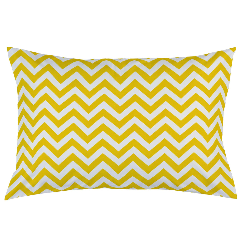 Product image for Yellow Zig Zag Pillow Case