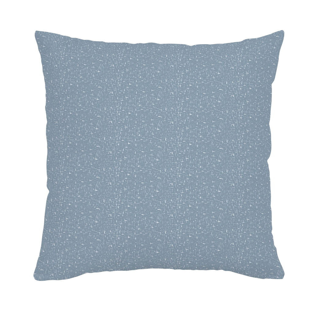 Product image for Steel Blue Heather Throw Pillow