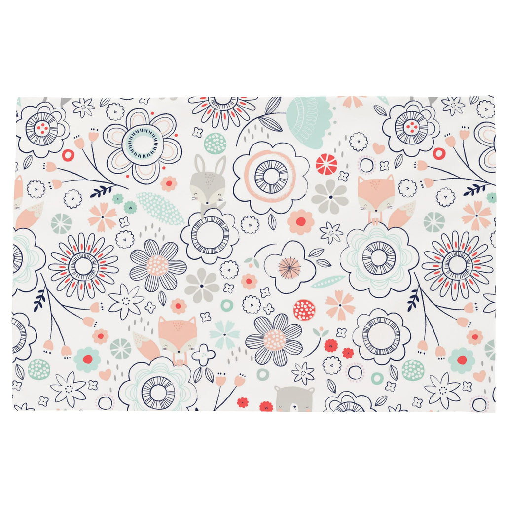 Product image for Coral Spring Doodles Toddler Pillow Case