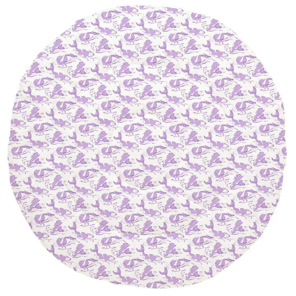 Product image for Purple Swimming Mermaids Baby Play Mat