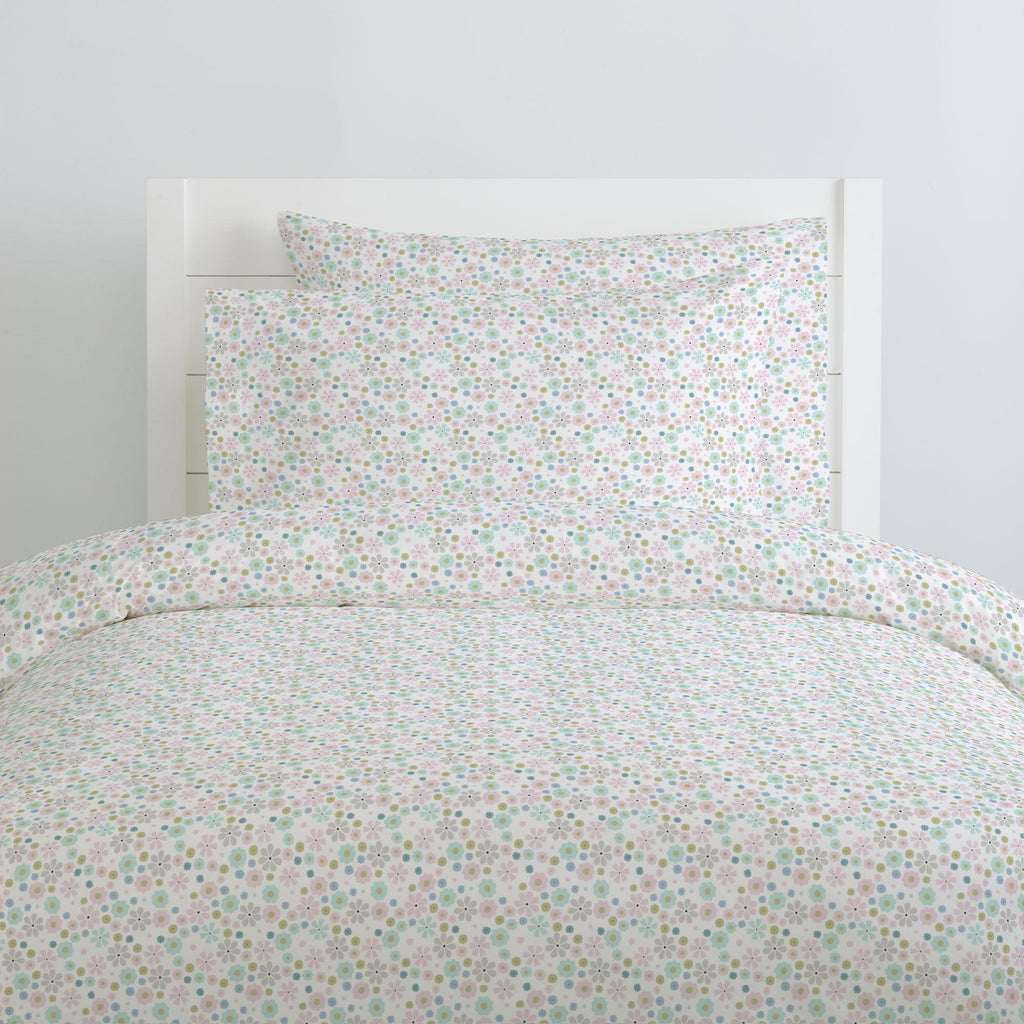 Product image for Pink Spring Flowers Duvet Cover