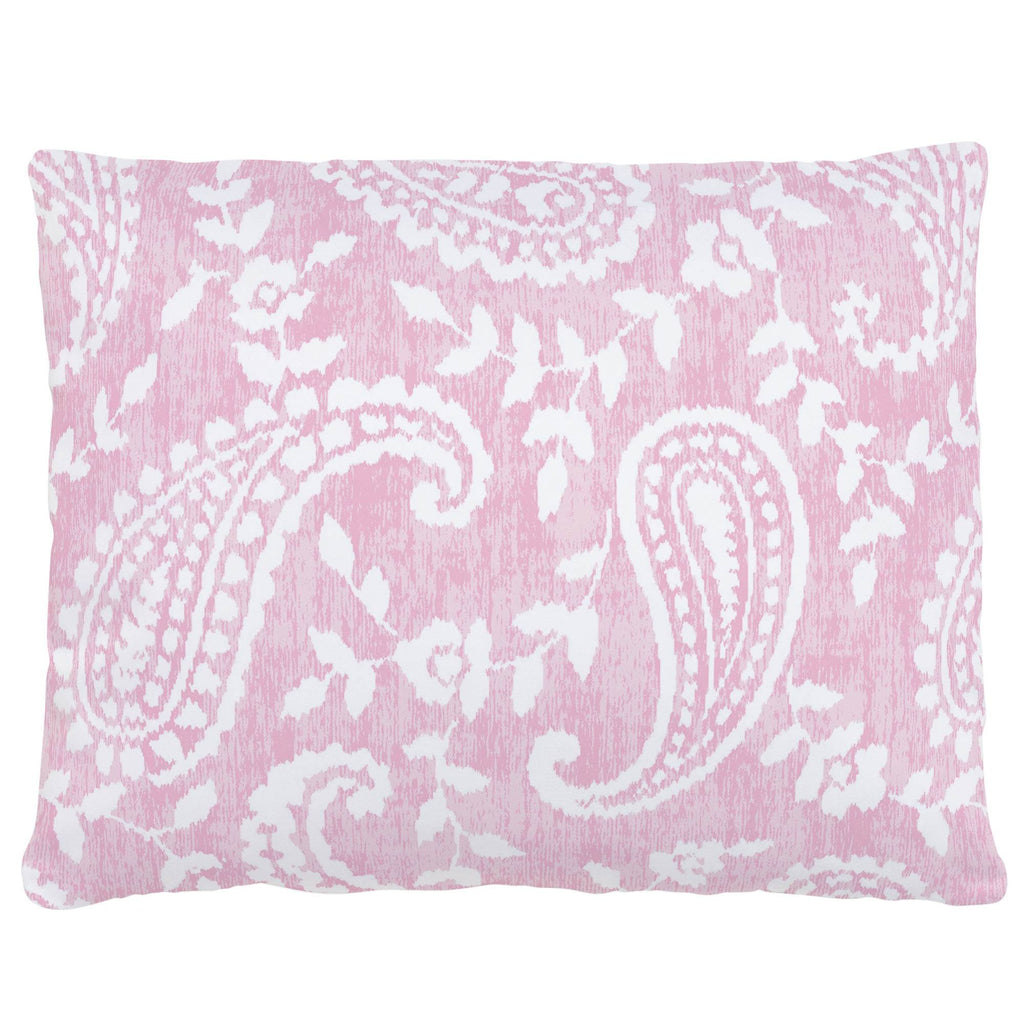 Product image for Pink Paisley Accent Pillow
