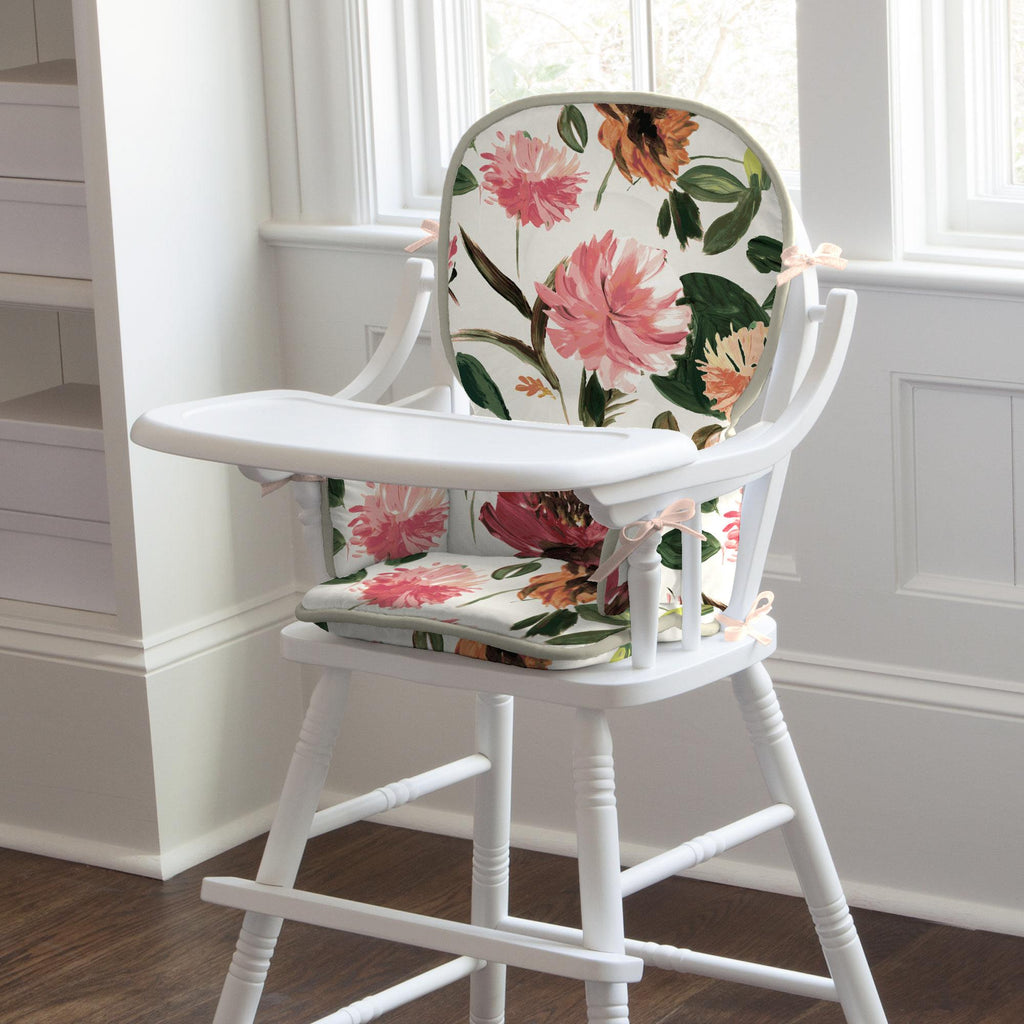 Product image for Moody Floral High Chair Pad