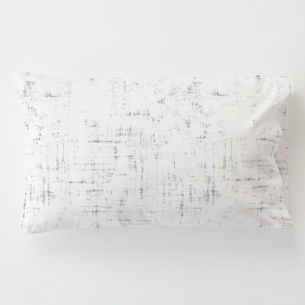 Product image for Cloud Gray Distressed Toddler Pillow Case