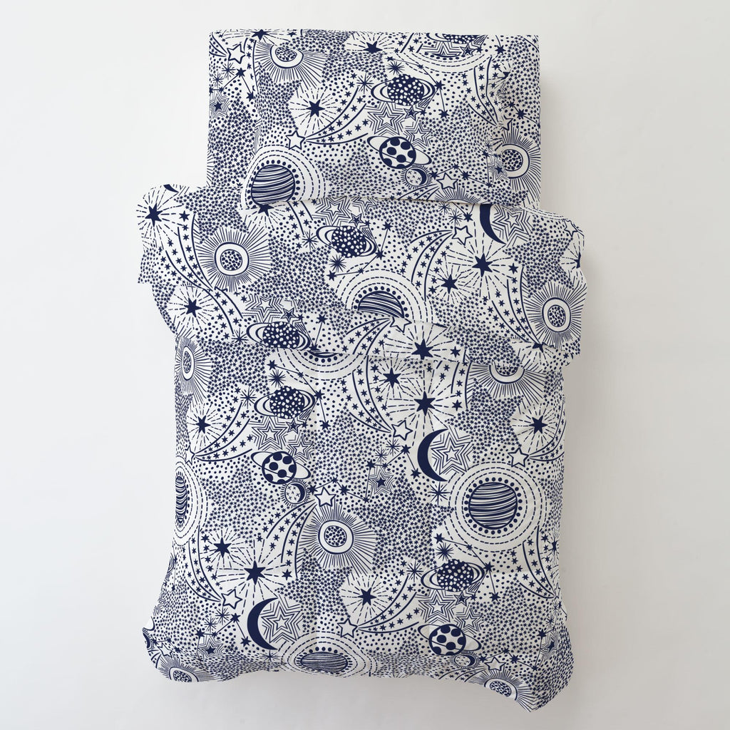 Product image for Navy Galaxy Toddler Comforter