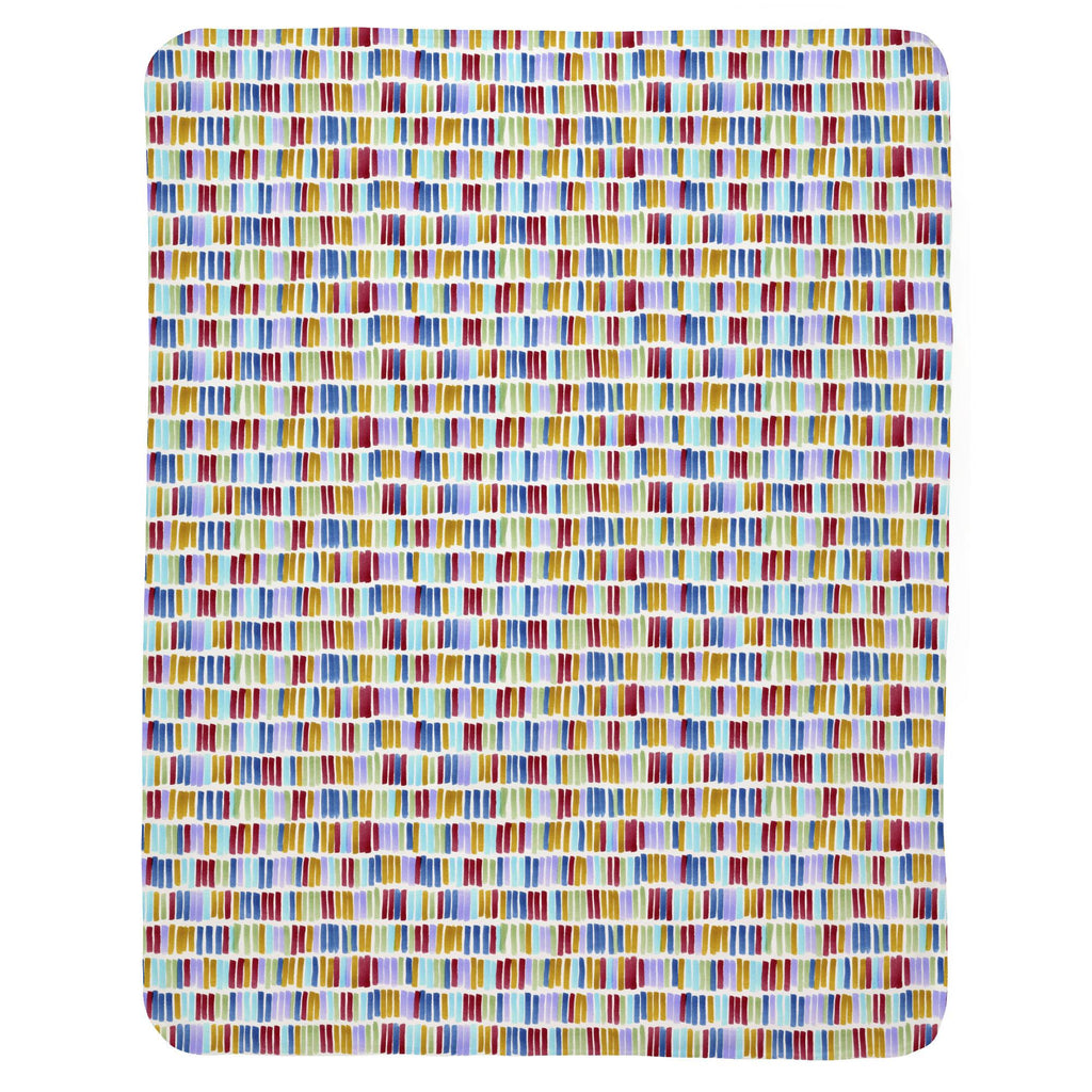 Product image for Colorful Bars Baby Blanket