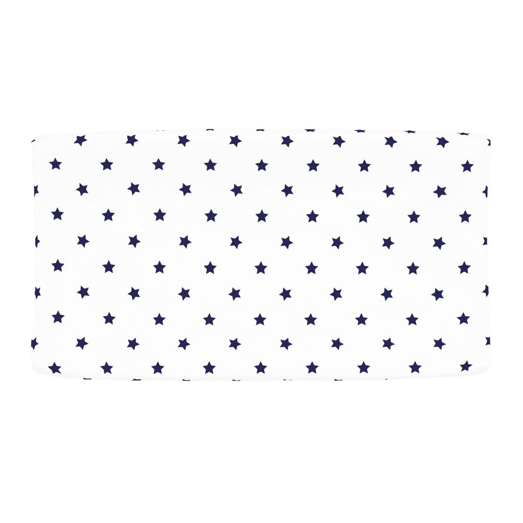 Product image for Navy Stars Changing Pad Cover