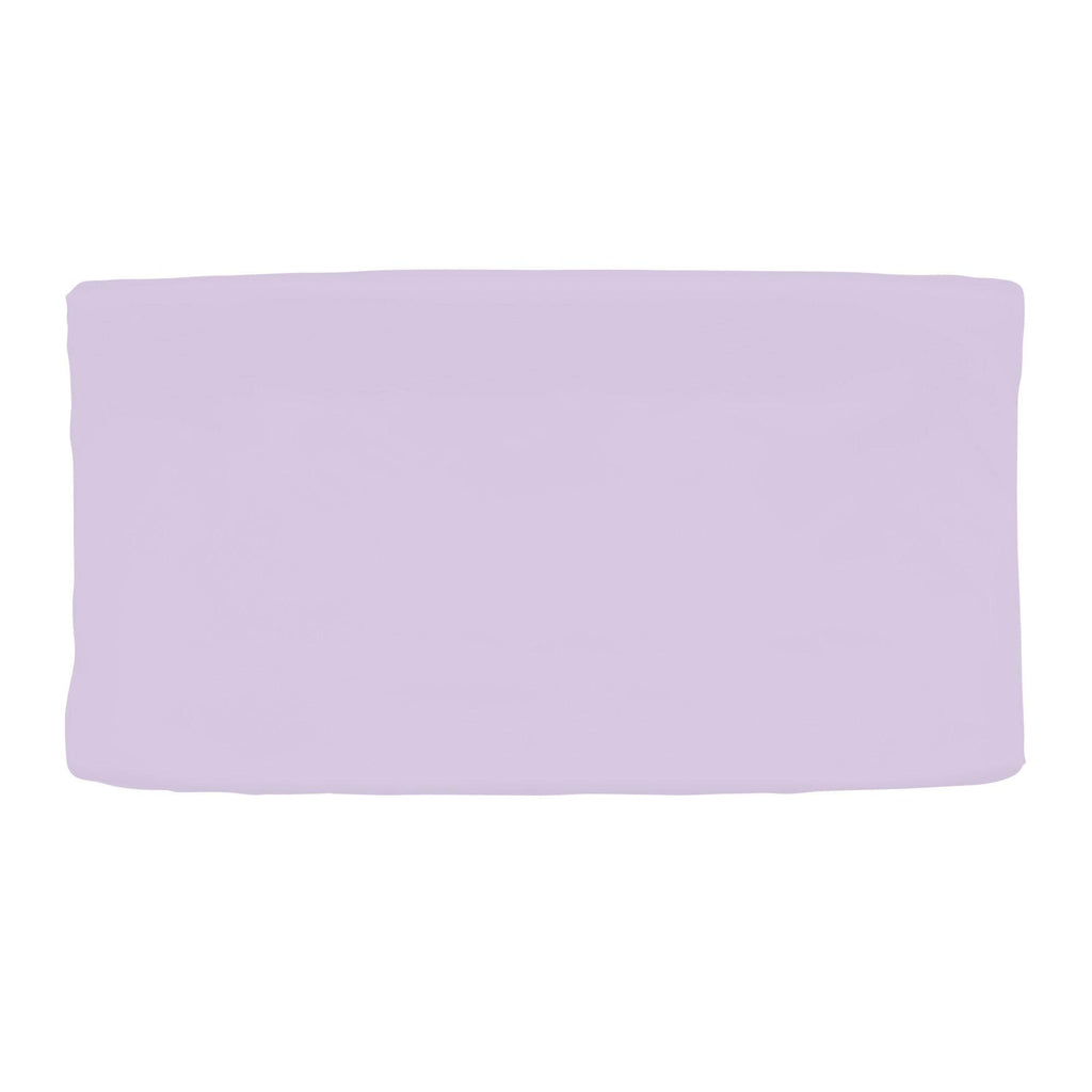 Product image for Solid Lilac Changing Pad Cover